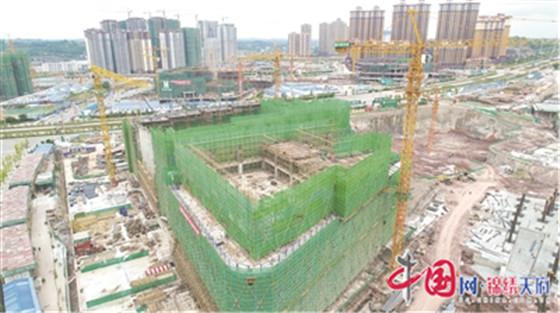 高质量建设东进区域最大文创中心 成都简阳东来印象项目进入冲刺阶段