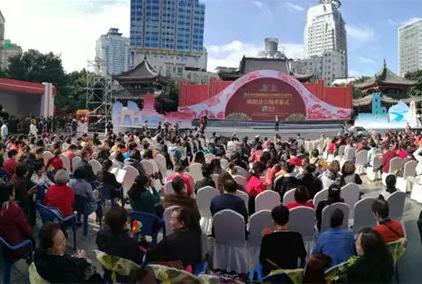 第七届成都国际非遗节绵阳分会场开幕啦!