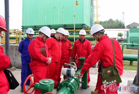 川中油气矿:磨溪净化厂到轻烃厂参观交流