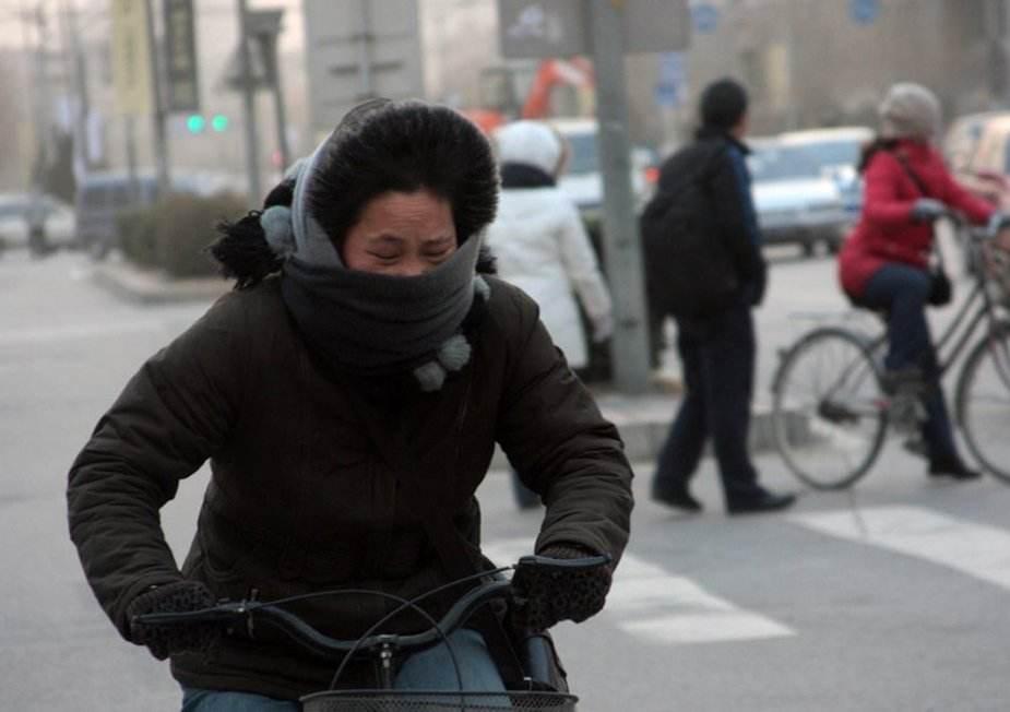 冷空气抵达四川 注意防寒保暖 广安等12市有5到7级偏北风