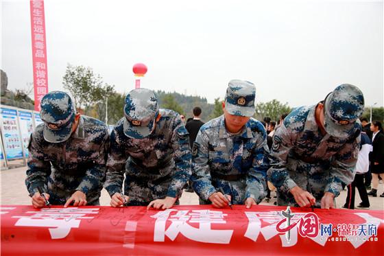 四川希望汽車職業學院助力資陽市禁毒主題宣傳活動